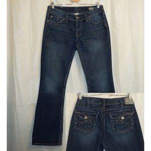 Silver Jeans Suki Surplus Boot Cut 30X32 Flap Pkts